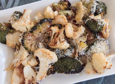 Brocoli y coliflor salteados - Laura Di Cola