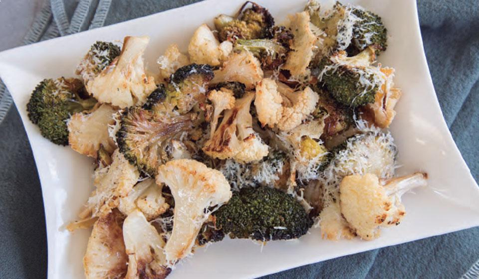 Brócoli y coliflor salteados - Laura Di Cola