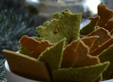 Legumbres en crackers - Laura Di Cola