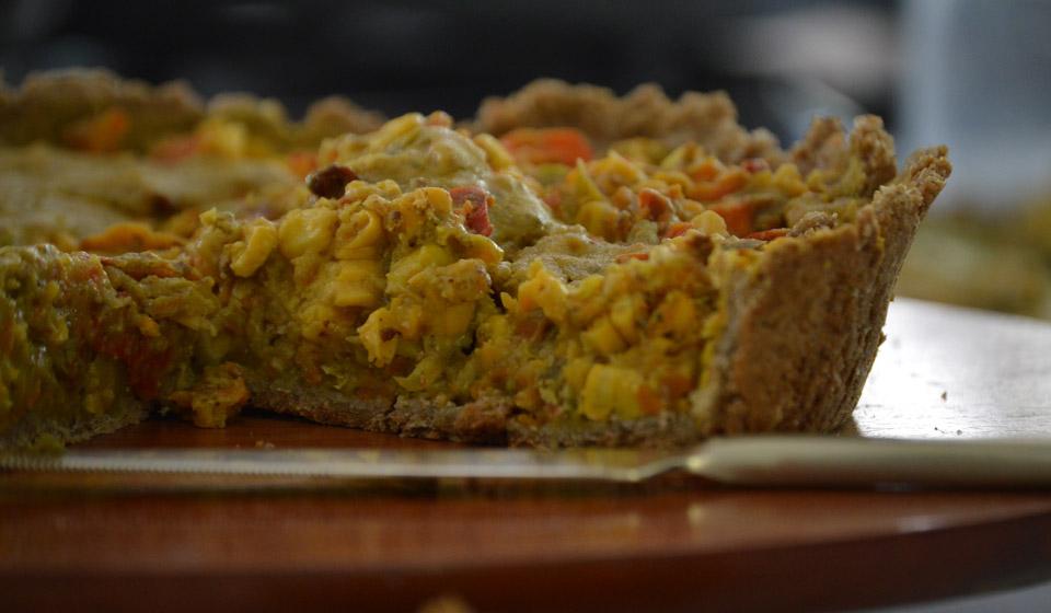 Tarta de sarraceno y vegetales - Laura Di Cola