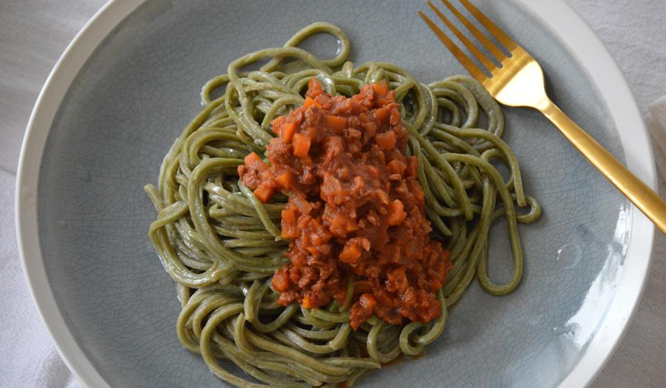 Boloñesa de soja - Laura Di Cola