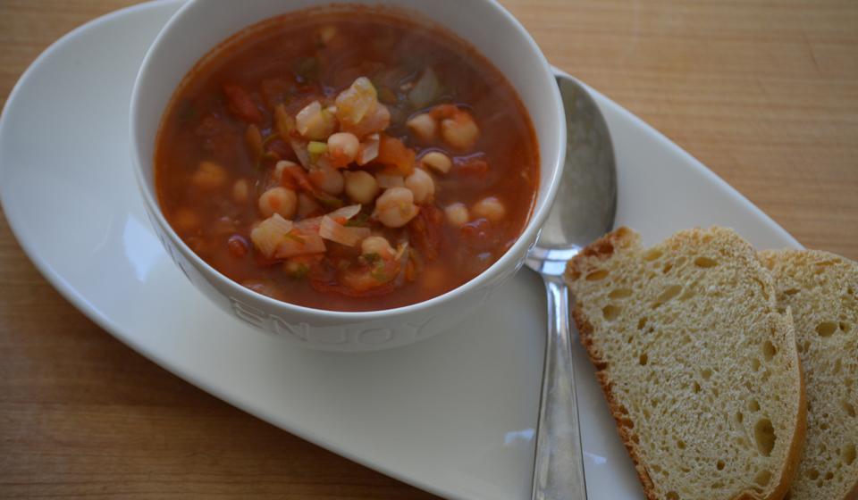 Garbanzos en sopa - Laura Di Cola