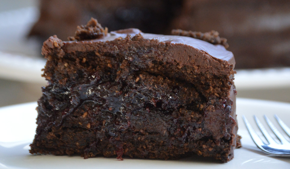 Torta vegana de chocolate - Laura Di Cola